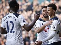 Hasil Tottenham vs Brighton 2-0: Spurs Ungguli Arsenal & Liverpool