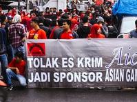 Kondisi Kerja Buruh Aice Tak Semanis Iklan 'Have an Aice Day'