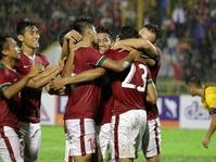 Jalannya Laga Timnas Indonesia vs Islandia Babak Pertama: Skor 1-1