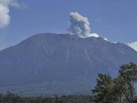 Masih Berstatus Awas, Gunung Agung Meletus Tujuh Kali dalam 10 Jam