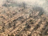 Kebakaran Hebat Berhari-Hari di California Hancurkan 400 Bangunan