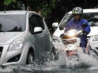 Kondisi Banjir Sunter Jakarta Utara pada 15 Februari 2018