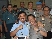 MoU TNI-Polri Tangani Demonstrasi dan Mogok Kerja Diperpanjang