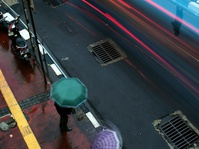 Hujan Saat Jam Pulang Kerja