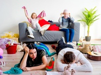 Dampak Buruk Orangtua Depresi pada Anak-anak