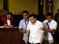 Setnov Mengaku Sakit Saat Sidang Perdana Korupsi e-KTP