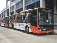 Transjakarta Buka 2 Rute untuk Akses Stasiun Kereta Bandara Soetta