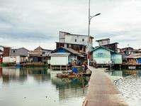 Melihat Kampung Apung, Menyaksikan Jakarta Tenggelam Perlahan
