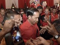 Tanggapan Jokowi Usai Diusung PDIP Jadi Capres di Pemilu 2019