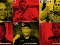 Perang Perwira TNI dan Polri dalam Pilkada 2018