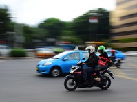 Dishub DKI Mulai Menyosialisasikan Jalur Motor di Jalan MH Thamrin