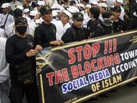 Perwakilan Massa Demo FPI dan Aliansinya Gagal Temui Pihak Facebook