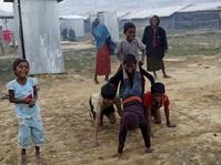 Jokowi Kunjungi Pengungsi Rohingya di Bangladesh