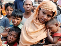 Jokowi dan Komisioner HAM PBB Bahas Pengungsi Rohingya