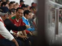 Indonesia vs Islandia: Ilham Udin Cetak Gol, Jokowi Gembira
