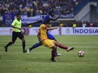 Hasil PSM Makassar vs Sriwijaya FC Skor Babak Pertama 0-1