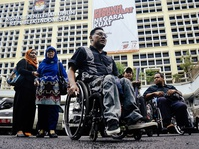 Penolakan Diskriminasi Pilkada oleh Kaum Disabilitas