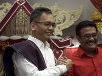 Pilgub Sumut 2018: Djarot-Sihar Sungkem ke Tokoh Jawa