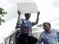 Sopir Angkot Tanah Abang Demo Tolak OK-OTrip dan Temui Dishub