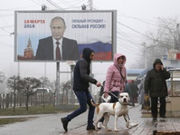Pemilu Rusia 2018: Oposisi Berserak, Putin Diperkirakan Menang