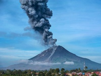 Dampak Letusan Gunung Sinabung pada 19 Februari 2018