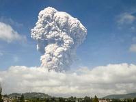 Gunung Sinabung Kembali Meletus, Pesawat Dilarang Melintas