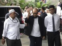 Novel Baswedan tiba di Gedung KPK