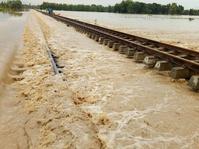 Menhub Akui Banjir di Rel Kereta Api Tidak Teridentifikasi