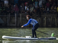 Sandiaga vs Susi Pudjiastuti di Festival Danau Sunter