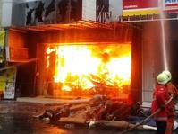 Kebakaran Pasar Baru Diduga karena Korsleting Hubungan Arus Pendek