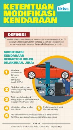Ketentuan Modifikasi Kendaraan
