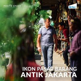 Ikon Pasar Barang Antik Jakarta