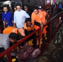Warga DKI di Kawasan Langganan Banjir: Mana Janjinya, Pak Anies?