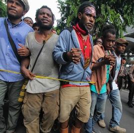PBB Komentari Penangkapan Mahasiswa Papua Saat Demonstrasi Damai