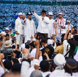 Puluhan Media Cetak Beritakan Reuni 212, Prabowo Kok Masih Marah?