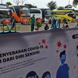 Pemerintah Rekomendasikan Setop Angkutan Jabodetabek Cegah Corona