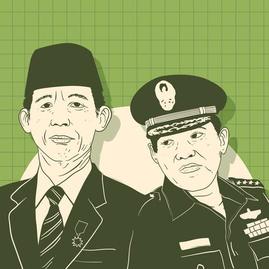 """Benny Menyerang Sudharmono & Strategi Soeharto """"Membekap"""" Wapres"""