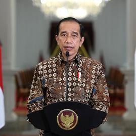 Jokowi saat Hari Santri: RI Harus jadi Pemain Utama Ekonomi Syariah