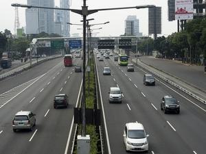 Jalanan Jakarta Mulai Lengang Jelang Lebaran