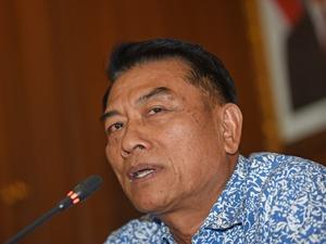 Jokowi Lantik Moeldoko sebagai Kepala KSP Gantikan Teten Masduki
