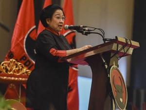 Megawati Larang TNI dan Polri Ikut Berpolitik
