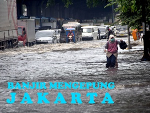 Banjir Mengepung Jakarta