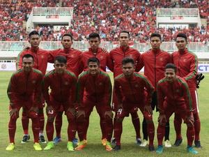 Timnas Indonesia U-22 vs Filipina Skor Babak Pertama 2-0