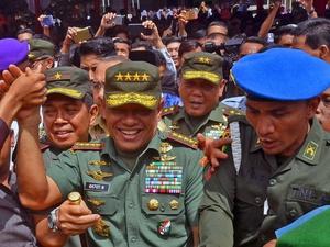 Panglima TNI Tanggapi Namanya Masuk Bursa Pilpres 2019