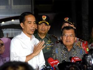Jokowi Klaim Jumlah Penduduk Miskin Menurun