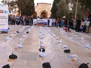 Bentrok Israel-Palestina di Masjid Al-Aqsa