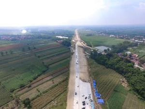 Jalur Tol Fungsional Brebes-Batang Terpantau Lancar
