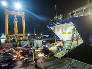 Penyeberangan Pelabuhan Merak-Bakauheni Sudah Kembali Dibuka