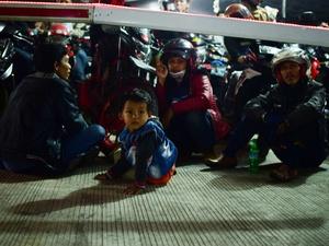 Anak-Anak di Tengah Ritual Mudik