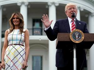 Presiden Trump Sampaikan Ucapan Selamat Idul Fitri